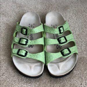 Birkenstock Papillio sandal.